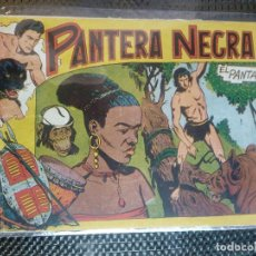 Tebeos: PANTERA NEGRA Nº 22 - ORIGINAL MAGA 1958 ( M-5 ). Lote 131929118