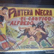 Tebeos: PANTERA NEGRA Nº 24 - ORIGINAL MAGA 1958 ( M-5 ). Lote 131929566