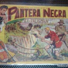 Tebeos: PANTERA NEGRA Nº 25 - ORIGINAL MAGA 1958 ( M-5 ). Lote 131929938