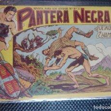 Tebeos: PANTERA NEGRA Nº 26 - ORIGINAL MAGA 1958 ( M-5 ). Lote 131930602