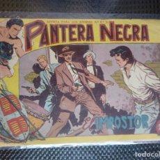 Tebeos: PANTERA NEGRA Nº 28 - ORIGINAL MAGA 1958 ( M-5 ). Lote 131931066
