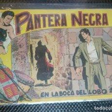 Tebeos: PANTERA NEGRA Nº 34 - ORIGINAL MAGA 1958 ( M-5 ). Lote 131933674
