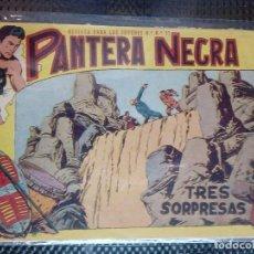 Tebeos: PANTERA NEGRA Nº 35 - ORIGINAL MAGA 1958 ( M-5 ). Lote 131934298