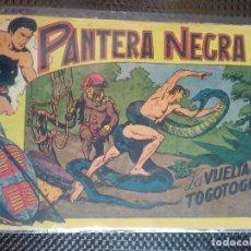 Tebeos: PANTERA NEGRA Nº 40 - ORIGINAL MAGA 1958 ( M-5 ). Lote 131935382