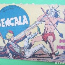 Tebeos: BENGALA , PRIMERA SERIE , N.48 , DUELO A MUERTE , MAGA . Lote 132005950