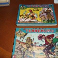 Tebeos: DAN BARRY EL TERREMOTO- ORIGINAL COMPLETA-. Lote 132181810