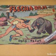 Tebeos: FLECHA ROJA Nº 4, ORIGINAL, ED. MAGA, ERCOM. Lote 132346438