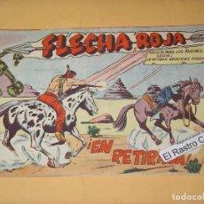 Tebeos: FLECHA ROJA Nº 7, ORIGINAL, ED. MAGA, ERCOM. Lote 132346778