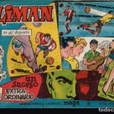 Tebeos: OLIMAN.AS DEL DEPORTE. Nº-25 UN SUCESO EXTRAORDINARIO. EDITORIAL MAGA 1961. Lote 132496094