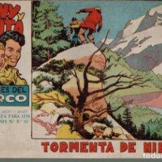 Tebeos: TONY Y ANITA LOS ASES DEL CIRCO.Nº-14 TORMENTA DE NIEVE. EDITORIAL MAGA 1960. Lote 132496974