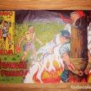 Tebeos: RAYO DE LA SELVA. Nº 7 : ¡A SANGRE Y FUEGO! (SERIE RAYO MARTYN). Lote 132685222