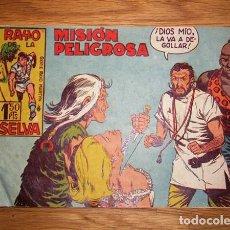 Tebeos: RAYO DE LA SELVA. Nº 16 : MISIÓN PELIGROSA (SERIE RAYO MARTYN). Lote 132685310