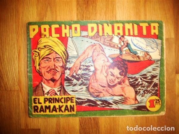 PACHO DINAMITA. Nº 59 : EL PRÍNCIPE RAMA-KAN (Tebeos y Comics - Maga - Pacho Dinamita)