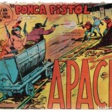 Tebeos: JUNGLA APACHE. Nº-32 PONCA PISTOL EDITORIAL MAGA. 1959. Lote 132928658