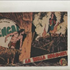 Tebeos: BENGALA-SERIE MARCOS-MAGA-APAISADO-B/N-AÑO1959-FORMATO GRAPA-Nº 44-LA BELLA ARASWATI. Lote 133158534