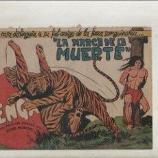 Tebeos: BENGALA-SERIE MARCOS-MAGA-APAISADO-B/N-AÑO1959-FORMATO GRAPA-Nº 40-LA MARCA DE LA MUERTE. Lote 133158670