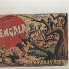 Tebeos: BENGALA-SERIE MARCOS-MAGA-APAISADO-B/N-AÑO1959-FORMATO GRAPA-Nº 38-EL MAHARAJA NEGRO. Lote 133158966