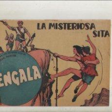 Tebeos: BENGALA-SERIE MARCOS-MAGA-APAISADO-B/N-AÑO1959-FORMATO GRAPA-Nº 37-LA MISTERIOSA SITA. Lote 133159214