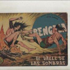 Tebeos: BENGALA-SERIE MARCOS-MAGA-APAISADO-B/N-AÑO1959-FORMATO GRAPA-Nº 36-EL VALLE DE LAS SOMBRAS. Lote 133159370