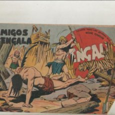Tebeos: BENGALA-SERIE MARCOS-MAGA-APAISADO-B/N-AÑO1959-FORMATO GRAPA-Nº 25-LOS AMIGOS DE BENGALA. Lote 133160758