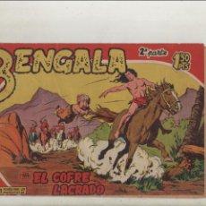 Tebeos: BENGALA-SERIE MARCOS-MAGA-APAISADO-B/N-2º SERIE-AÑO1959-FORMATO GRAPA-Nº 2-EL COFRE LACRADO. Lote 133162550