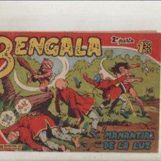 Tebeos: BENGALA-SERIE MARCOS-MAGA-APAISADO-B/N-2º SERIE-AÑO1959-FORMATO GRAPA-Nº 1-EL MANANTIAL DE LA LUZ. Lote 133162706