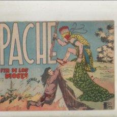 Tebeos: APACHE-MAGA-APAISADO-B/N-AÑO 1958-FORMATO GRAPA-Nº 52-EL FIN DE LOS DIOSES. Lote 133196522