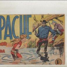 Tebeos: APACHE-MAGA-APAISADO-B/N-AÑO 1958-FORMATO GRAPA-Nº 48-TRAIDOR EN LA SOMBRA. Lote 133196658