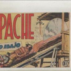 Tebeos: APACHE-MAGA-APAISADO-B/N-AÑO 1958-FORMATO GRAPA-Nº 45-RIO ABAJO. Lote 133196798