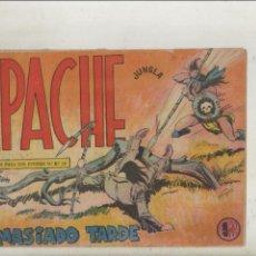 Livros de Banda Desenhada: APACHE-MAGA-APAISADO-B/N-AÑO 1958-FORMATO GRAPA-Nº 41-DEMASIADO TARDE. Lote 133197230