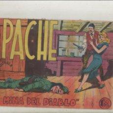 Tebeos: APACHE-MAGA-APAISADO-B/N-AÑO 1958-FORMATO GRAPA-Nº 31-LA MINA DEL DIABLO. Lote 133197642