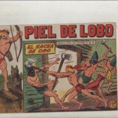BDs: PIEL DE LOBO-MAGA-B/N-APAISADO-AÑO 1959-FORMATO GRAPA-Nº 77-EL HACHA DE ORO. Lote 133198586
