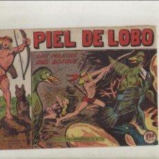 BDs: PIEL DE LOBO-MAGA-B/N-APAISADO-AÑO 1959-FORMATO GRAPA-Nº 75-LOS PIRATAS DEL BOSQUE. Lote 133198958
