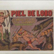 BDs: PIEL DE LOBO-MAGA-B/N-APAISADO-AÑO 1959-FORMATO GRAPA-Nº 72-EL BRUJO DE LAS TRES JOROBAS. Lote 135663251