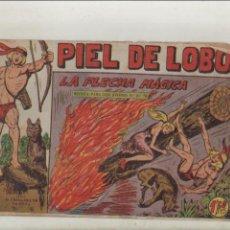 BDs: PIEL DE LOBO-MAGA-B/N-APAISADO-AÑO 1959-FORMATO GRAPA-Nº 71-LA FLECHA MAGICA. Lote 133199618