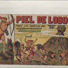 Livros de Banda Desenhada: PIEL DE LOBO-MAGA-B/N-APAISADO-AÑO 1959-FORMATO GRAPA-Nº 63-TRAS LAS HUELLAS DEL QUEBRANTAHUESOS. Lote 133200282