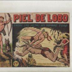 Tebeos: PIEL DE LOBO-MAGA-B/N-APAISADO-AÑO 1959-FORMATO GRAPA-Nº 47-ENTRE LAS ASTAS DEL HOMBRE TORO. Lote 188711787
