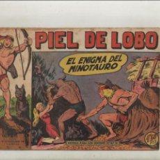 Giornalini: PIEL DE LOBO-MAGA-B/N-APAISADO-AÑO 1959-FORMATO GRAPA-Nº 46-EL ENIGMA DEL MINOTAURO. Lote 133200966