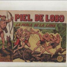 Giornalini: PIEL DE LOBO-MAGA-B/N-APAISADO-AÑO 1959-FORMATO GRAPA-Nº 43-LA PERLA DE LA LUNA. Lote 133201282