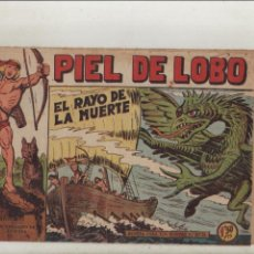 BDs: PIEL DE LOBO-MAGA-B/N-APAISADO-AÑO 1959-FORMATO GRAPA-Nº 42-EL RAYO DE LA MUERTE. Lote 133201454