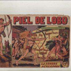 BDs: PIEL DE LOBO-MAGA-B/N-APAISADO-AÑO 1959-FORMATO GRAPA-Nº 41-LA SOMBRA ACUSADORA. Lote 133201618