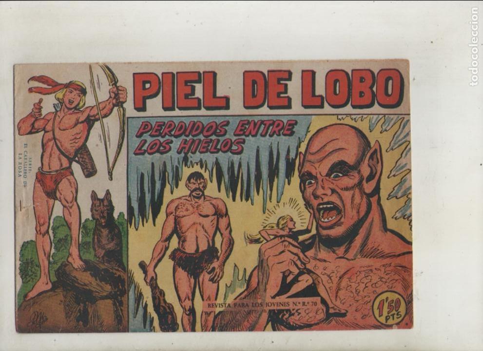 PIEL DE LOBO-MAGA-B/N-APAISADO-AÑO 1959-FORMATO GRAPA-Nº 17-PERDIDOS ENTRE LOS HIELOS (Tebeos y Comics - Maga - Piel de Lobo)