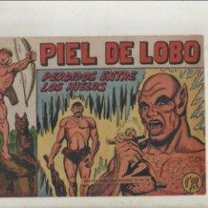 Tebeos: PIEL DE LOBO-MAGA-B/N-APAISADO-AÑO 1959-FORMATO GRAPA-Nº 17-PERDIDOS ENTRE LOS HIELOS. Lote 133203234