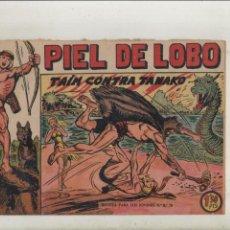 BDs: PIEL DE LOBO-MAGA-B/N-APAISADO-AÑO 1959-FORMATO GRAPA-Nº 4-TAIM CONTRA TANAKO. Lote 133204822