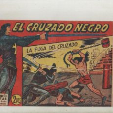 Tebeos: EL CRUZADO NEGRO-MAGA-APAISADO-B/N-AÑO 1961-FORMATO GRAPA-Nº 30-LA FUGA DEL CRUZADO. Lote 133231954