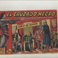 Tebeos: EL CRUZADO NEGRO-MAGA-APAISADO-B/N-AÑO 1961-FORMATO GRAPA-Nº 21-JUICIO DE HONOR. Lote 133232490