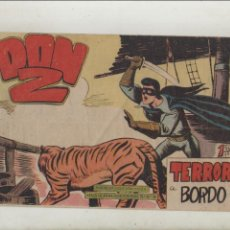Tebeos: DON Z-MAGA-B/N-AÑO 1959-APAISADO-FORMATO GRAPA-Nº 82-TERROR A BORDO. Lote 133233430