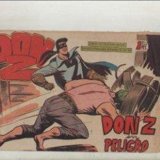 Tebeos: DON Z-MAGA-B/N-APAISADO-AÑO 1959-FORMATO GRAPA-Nº 81-DON Z EN PELIGRO. Lote 133236046
