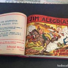 Tebeos: COLECCIÓN COMPLETA ORIGINAL -JIM ALEGRÍAS- 69 NÚMEROS. COMPLETA.. Lote 133648254