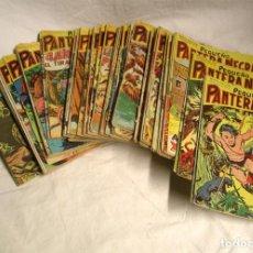 Tebeos: PEQUEÑO PANTERA NEGRA AÑO 1958 - COLECCIÓN COMPLETA, ORIGINAL + LAS 3 TAPAS (DEL 55 AL 124). Lote 133692962
